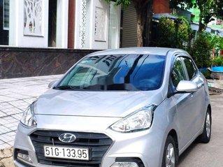 Bán Hyundai Grand i10 năm 2018, màu bạc, nhập khẩu nguyên chiếc