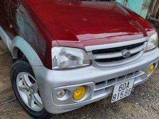 Bán Daihatsu Terios sản xuất 2005, màu đỏ số sàn