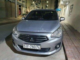 Cần bán xe Mitsubishi Attrage đời 2016, màu bạc, nhập khẩu nguyên chiếc