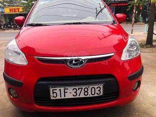 Bán xe Hyundai Grand i10 sản xuất năm 2010, màu đỏ, xe nhập
