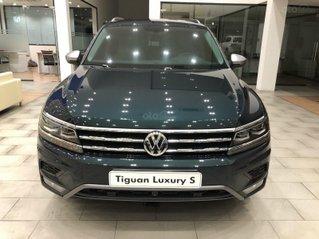 Vw Tiguan Luxury S màu xanh rêu số lượng có hạn - Phiên bản cao cấp - giá tốt cuối năm