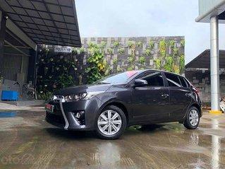 Bán Toyota Yaris 1.3G năm 2015, màu xám