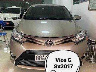Bán Toyota Vios năm 2017, cam kết nguyên bản
