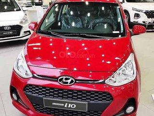 Bán xe Hyundai Grand i10 sản xuất 2020, màu đỏ, giá tốt
