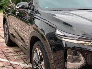 Bán xe Santafe 2.4AT Premium full xăng, màu đen