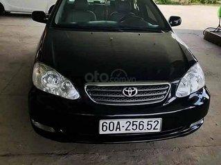 Cần bán gấp Toyota Corolla Altis năm 2006, màu đen