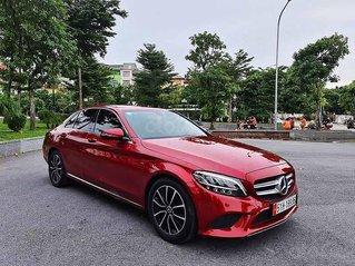 Cần bán lại xe Mercedes C200 năm 2019, màu đỏ như mới