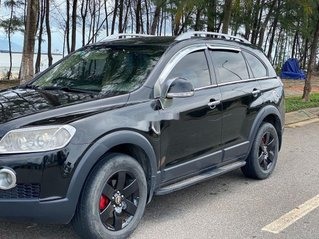 Cần bán lại xe Chevrolet Captiva năm 2007, màu đen, xe nhập