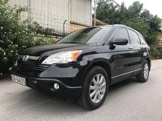 Bán Honda CR V năm 2008, màu đen, xe nhập, giá chỉ 385 triệu