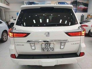 Cần bán xe Lexus LX 570 sản xuất năm 2016, màu trắng, xe nhập