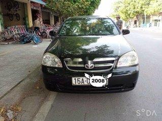 Cần bán Daewoo Lacetti 2008, màu đen chính chủ, giá 155tr