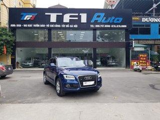 Bán xe Audi Q5 sản xuất 2013, màu xanh lam, xe nhập