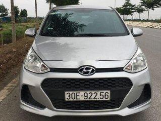 Bán Hyundai Grand i10 năm 2017, màu bạc, nhập khẩu nguyên chiếc