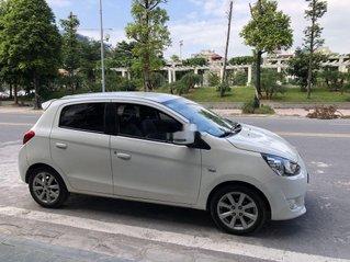 Bán ô tô Mitsubishi Mirage đời 2015, màu trắng, nhập khẩu, giá 318tr