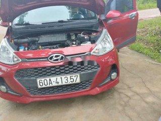 Cần bán gấp Hyundai Grand i10 2017, màu đỏ xe gia đình, 345tr