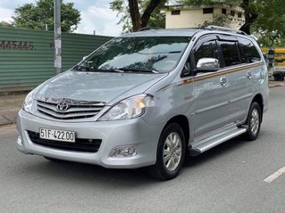 Bán Toyota Innova G đời 2009, màu bạc, BSTP. Rất đẹp