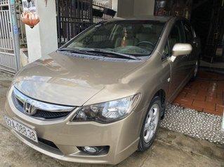 Cần bán lại xe Honda Civic 2011, màu vàng cát