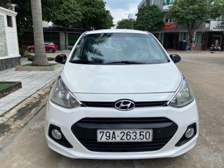 Bán xe Hyundai Grand i10 sản xuất 2014, màu trắng, nhập khẩu
