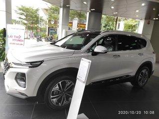 Tư vấn giá xe Hyundai Santafe 2020 giảm 40tr, hỗ trợ trả góp lên tới 85%, đủ màu giao ngay