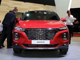 Bán xe Hyundai Santa Fe đời 2020, màu đỏ, máy xăng