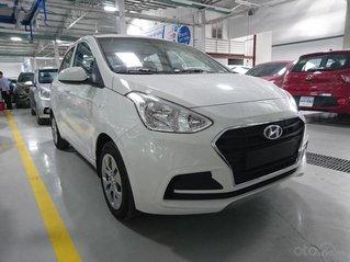 Bán xe Hyundai Grand i10 1.2MT Base, dáng sedan, màu trắng