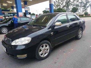 Bán xe Toyota Corolla Altis sản xuất năm 2004, màu đen còn mới, giá chỉ 238 triệu
