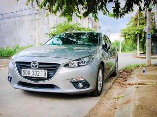 Bán xe Mazda 3 sản xuất 2016, màu bạc còn mới, 485 triệu
