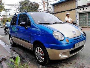 Bán ô tô Daewoo Matiz năm sản xuất 2007, màu xanh lam còn mới, giá tốt