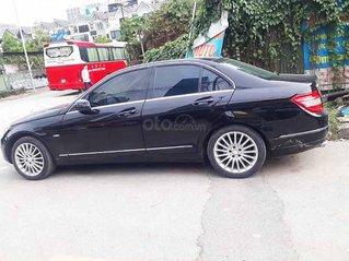 Bán ô tô Mercedes C class năm sản xuất 2009, màu đen còn mới, giá chỉ 383 triệu