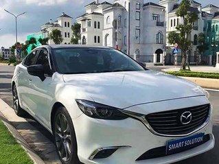 Xe Mazda 6 năm sản xuất 2017, màu trắng còn mới giá cạnh tranh