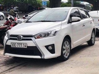 Bán Toyota Yaris năm 2017, màu trắng, nhập khẩu nguyên chiếc còn mới, giá chỉ 563 triệu