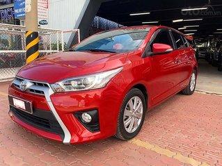 Bán nhanh Toyota Yaris 1.3G đời 2015, màu đỏ