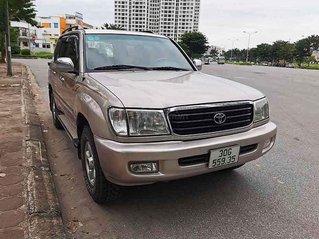 Cần bán xe Toyota Land Cruiser năm sản xuất 2002, màu hồng còn mới