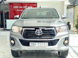 Bán ô tô Toyota Hilux sản xuất năm 2019, màu bạc, xe nhập