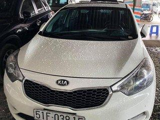 Bán xe Kia K3 SX 2014, màu trắng, bản 2.0 full option