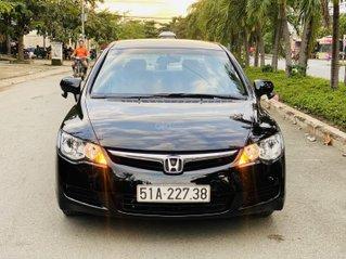Bán xe Honda Civic đời 2009, màu đen. Xe gia đình, giá 285 triệu đồng