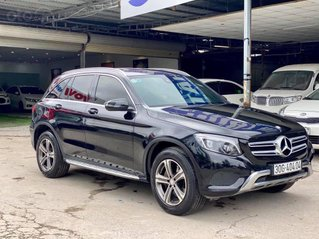 Mercedes-Benz GLC 250 4Matic sx 2016, màu đen, nội thất đen