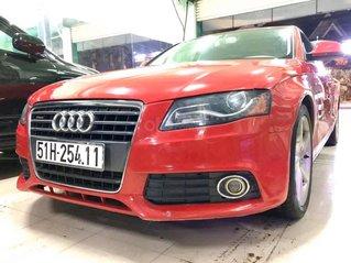Em bán xe Audi A4 ĐK 2009, bản 2.0 Turbo, màu đỏ tươi