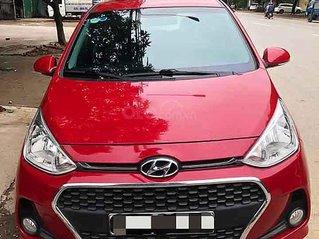 Cần bán xe Hyundai Grand i10 năm sản xuất 2018, màu đỏ giá cạnh tranh