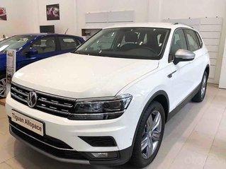 Bán Volkswagen Tiguan năm sản xuất 2020, màu trắng, nhập khẩu nguyên chiếc