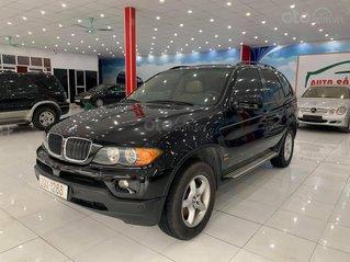 Cần bán BMW X5 SX 2004, ĐK 2005, nhập Mỹ, 5 chỗ, màu đen