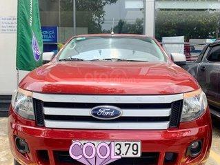 Bán Ford Ranger XLS AT đời 2014 màu đỏ, biển số 51C-xx3.79