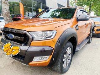 Bán Ford Ranger Wildtrak 3.2L SX 2015, màu cam