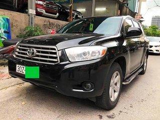 Bán xe Toyota Highlander 2.7 AT sản xuất 2010, màu đen, xe nhập