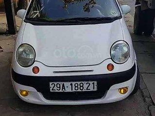 Cần bán lại xe Daewoo Matiz SE 0.8 MT đời 2005, màu trắng xe gia đình, giá tốt