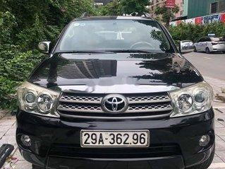 Bán xe Toyota Fortuner năm 2011, màu đen