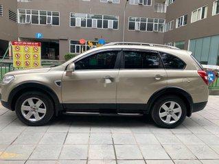 Chính chủ bán lại xe Chevrolet Captiva đời 2009, màu vàng cát