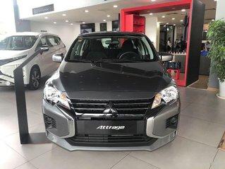 Bán xe Mitsubishi Attrage năm sản xuất 2020, màu xám, 375tr