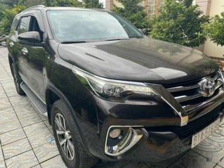 Cần bán lại xe Toyota Fortuner sản xuất 2018, màu đen còn mới