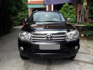 Bán Toyota Fortuner sản xuất 2009, màu đen còn mới, giá 386tr
